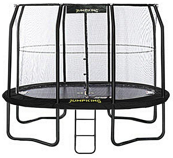 Jumpking OvalPOD 8ft X 11.5ft Oval-shaped Trampoline Set