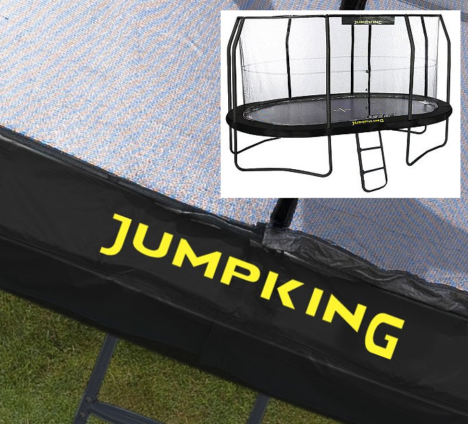 Padding For 10ft X 15ft OvalPod Trampoline In Black