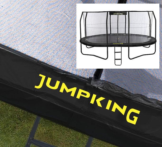 14ft Zorbpod Trampoline: Padding For 14ft X 17ft OvalPod Trampoline In Black