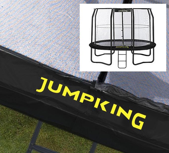14ft Zorbpod Trampoline: Padding For 8ft X 11.5ft OvalPod Trampoline In Black