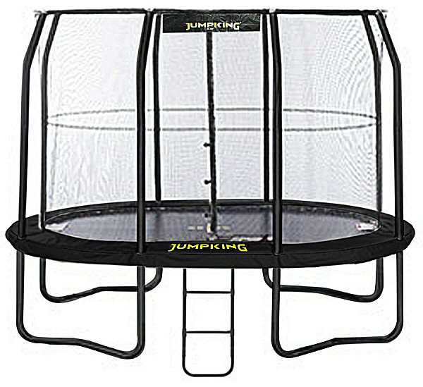 Jumpking OvalPOD 8ft X 11.5ft Oval-shaped Trampoline Set